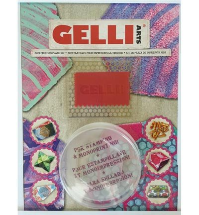 Gelli Plate Mini Kit - Hexagon