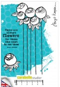 Stempel: THERE ARE ALWAYS  FLOWER