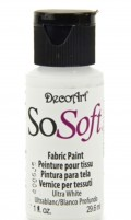 So Soft textilmaling - Ultra White, 29 ml